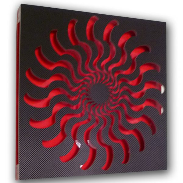 EYE-II-Black-red-(2) geometricarte carlos marcano