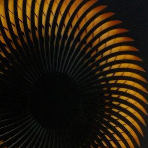 nautilus-Black-yellow-geometricarte carlos marcano
