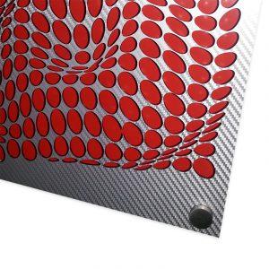 Come-Inside-Grey-Red-20x20-geometricarte-carlos-marcano