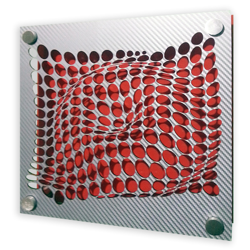 Come-Inside-Grey-Red-20x20-geometricarte-carlos-marcano