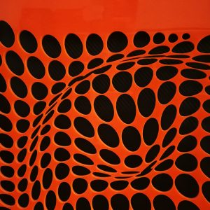 Come-Inside-Orange-black-2-geometricarte-carlos-marcano