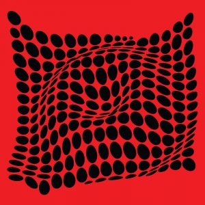 Come-Inside-Red-Black-merchandising-geometricarte