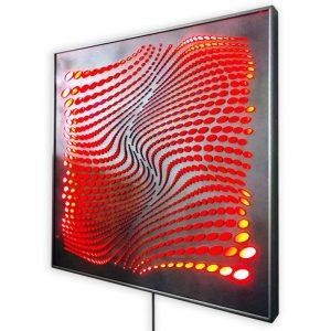 The-river-red-led-geometricarte-carlos-marcano