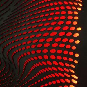 The-river-red-led-geometricarte carlos marcano