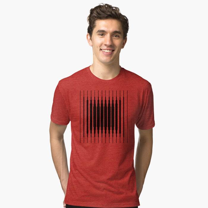 camiseta-hombre-square-line-geometricarte