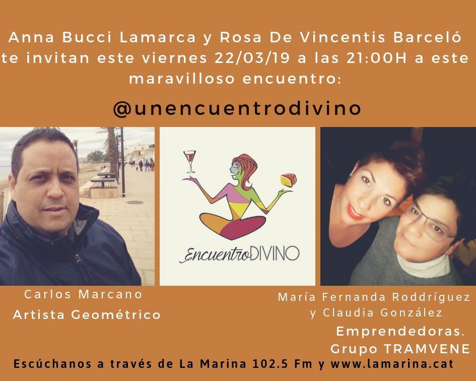 encuentro divino entrevista Carlos Marcano geometricarte