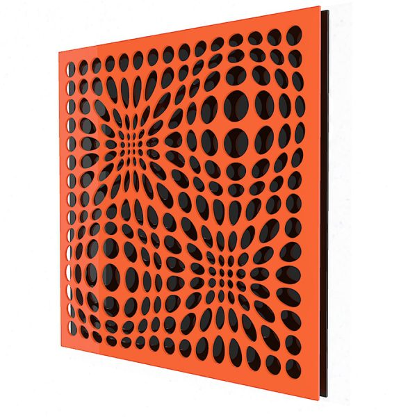 IN & OUT ORANGE-BLACK-geometricarte-carlos-marcano