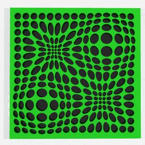 In & Out_Green_black-geometricarte-carlos-marcano