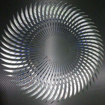 Nautilus-negro-azul-geometricarte-carlos-marcano-2